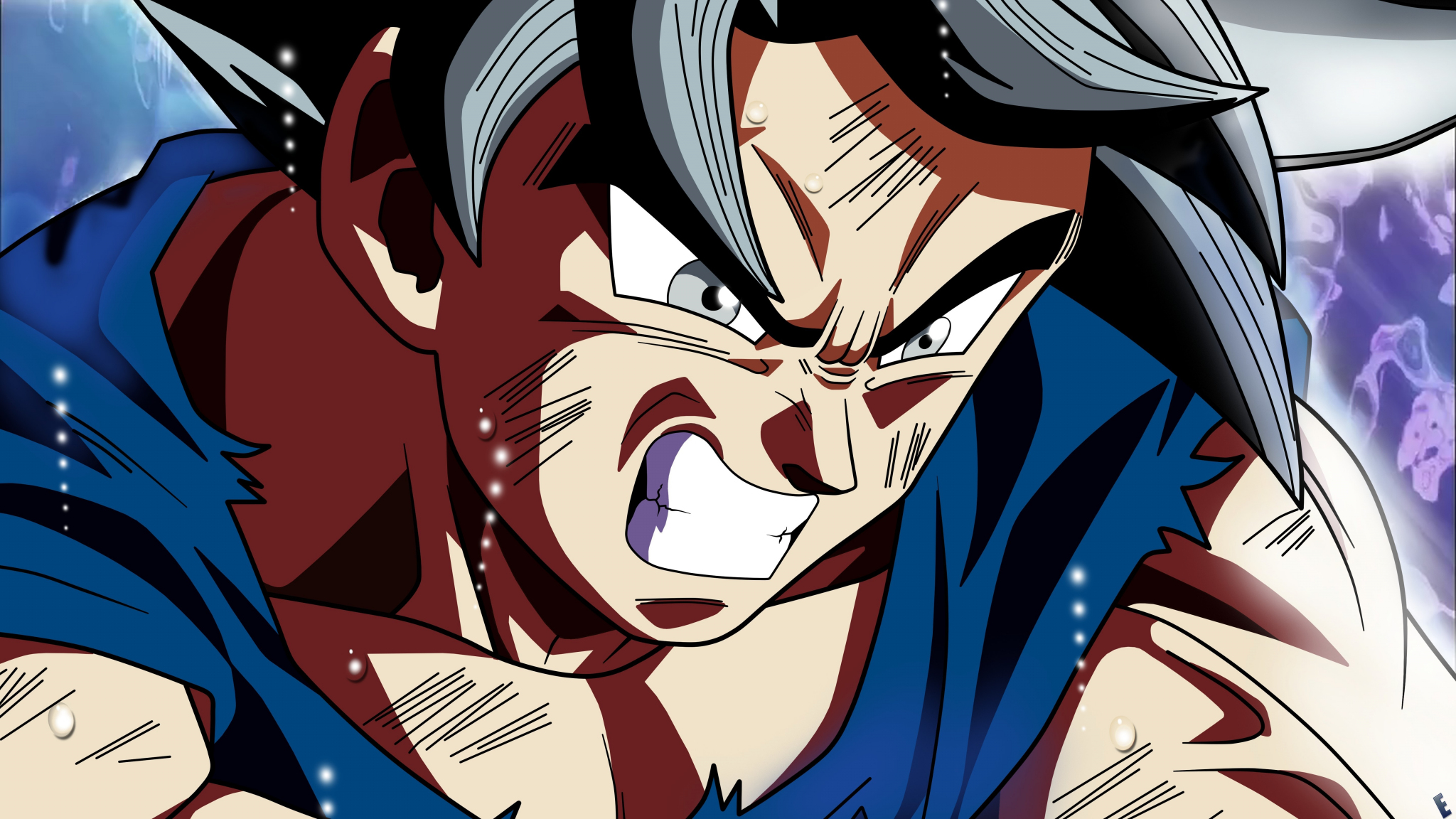 Wallpaper 4k Samsung Galaxy S8 Girls Download 2048x1152 Wallpaper Goku Angry Face Anime