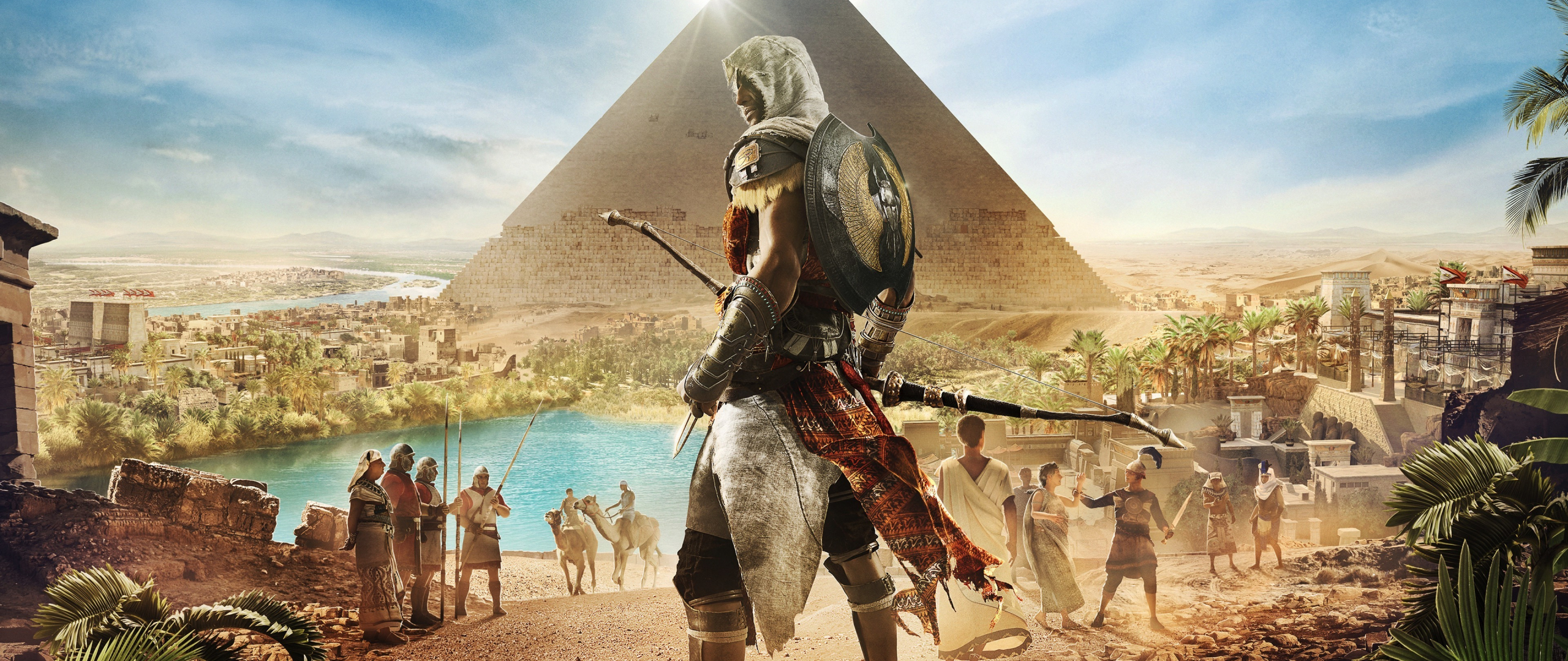 Cute Wallpaper For S5 Download 2560x1080 Wallpaper Assassin S Creed Origins