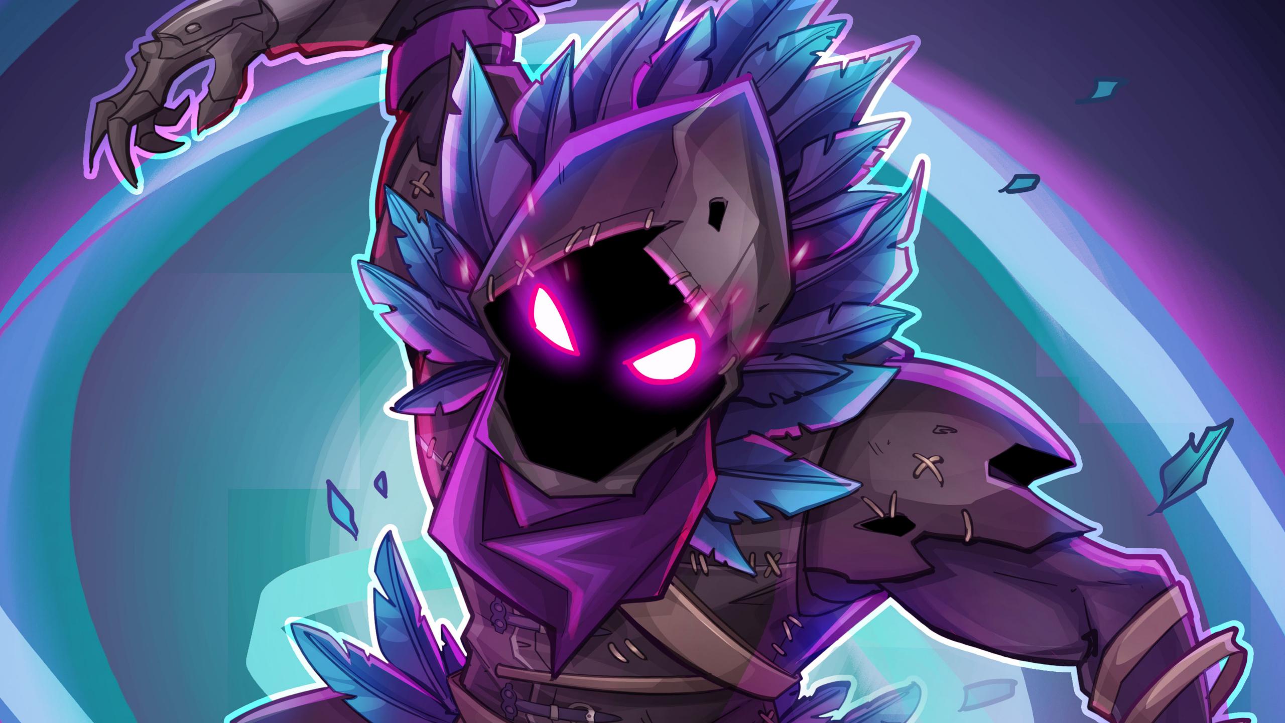 Cute Hd Wallpapers 1080p Widescreen Download 2560x1440 Wallpaper Raven Fortnite Battle Royale