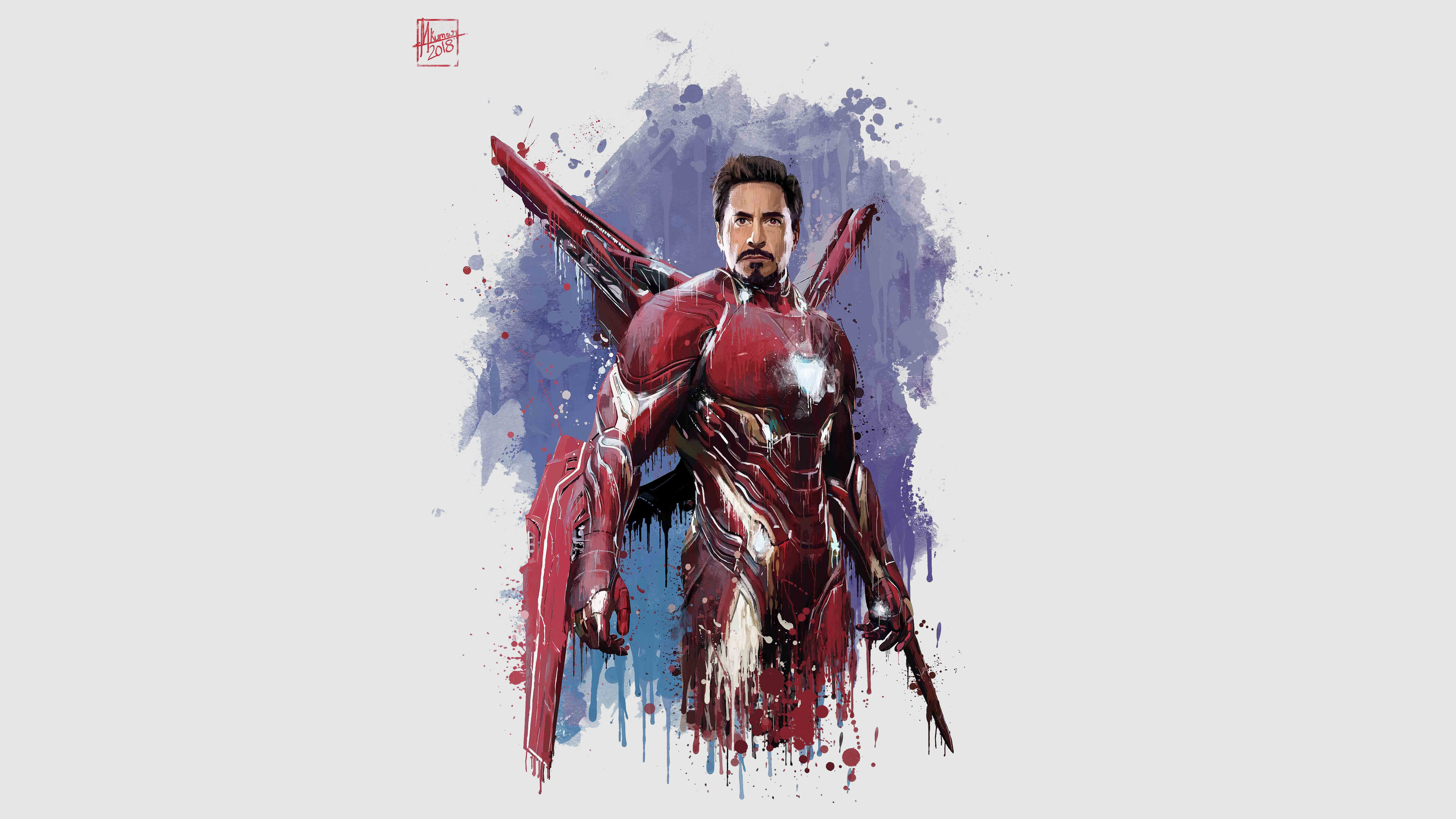 Cute Flowers Full Hd Wallpapers Download 3840x2160 Wallpaper Iron Man New Suit Avengers