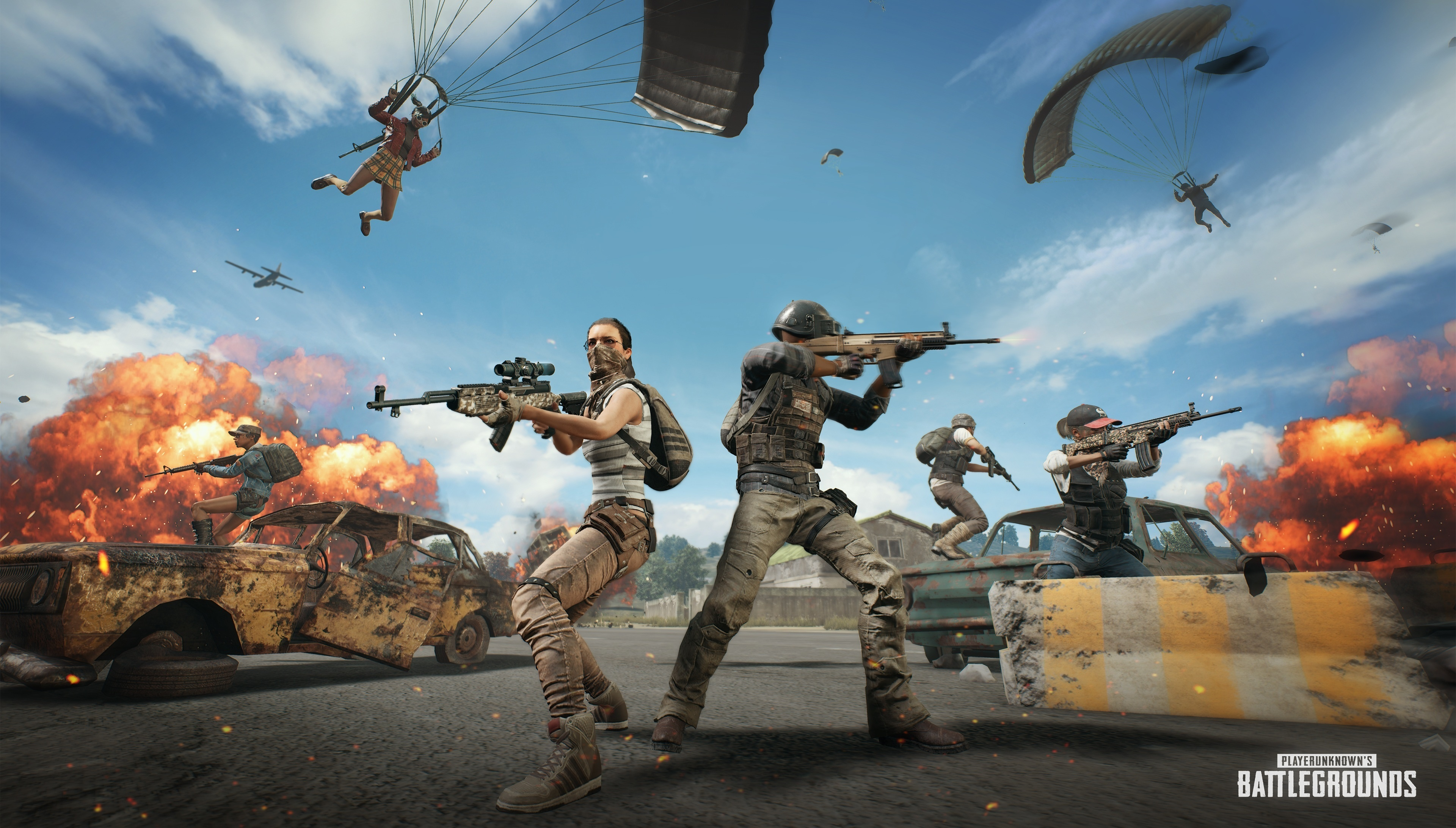 Cute Wallpapers For Girls Mobile Download 3840x2400 Wallpaper Playerunknown S Battlegrounds