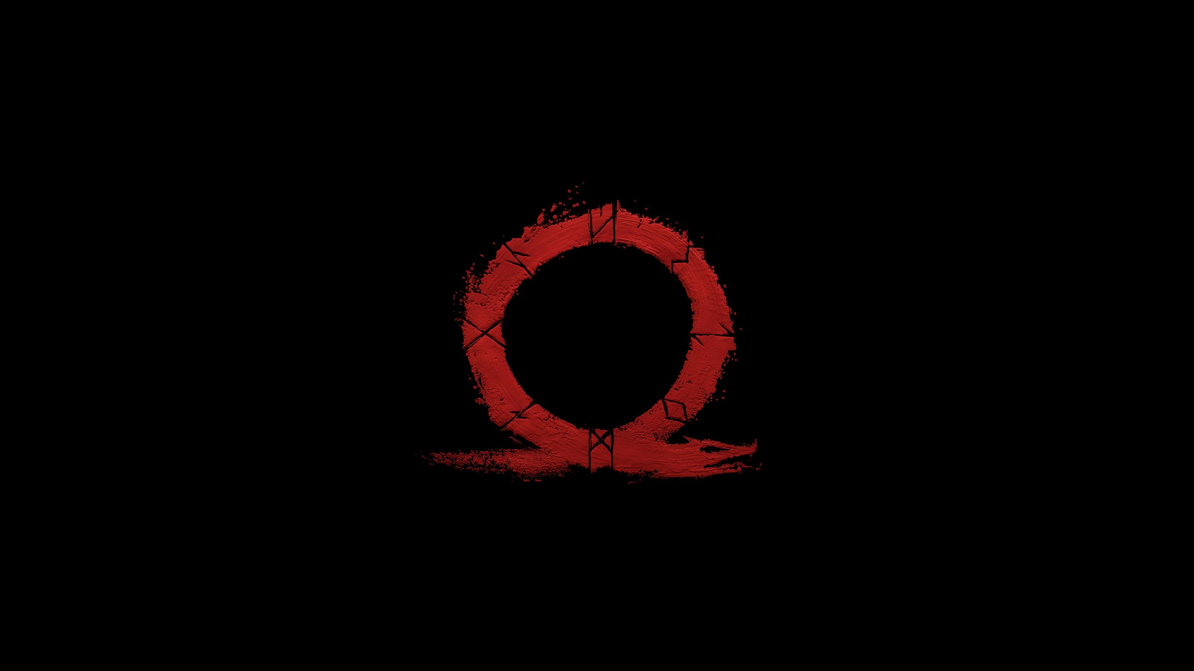 Black Wallpaper Galaxy S4 Download 3840x2400 Wallpaper God Of War Omega Logo