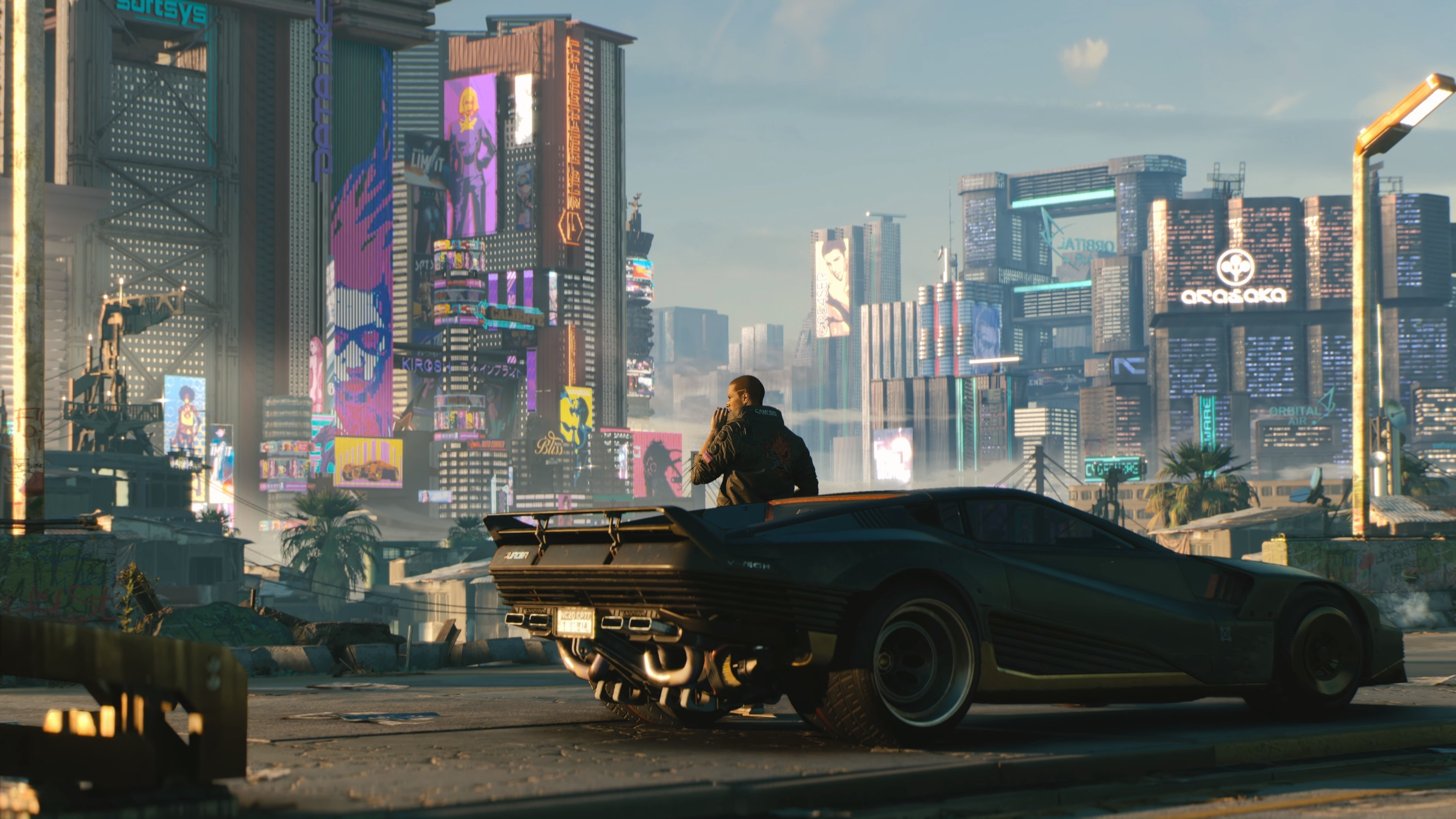 Car Games Wallpapers Hd 1080p Download 3840x2400 Wallpaper Cyberpunk 2077 Man With