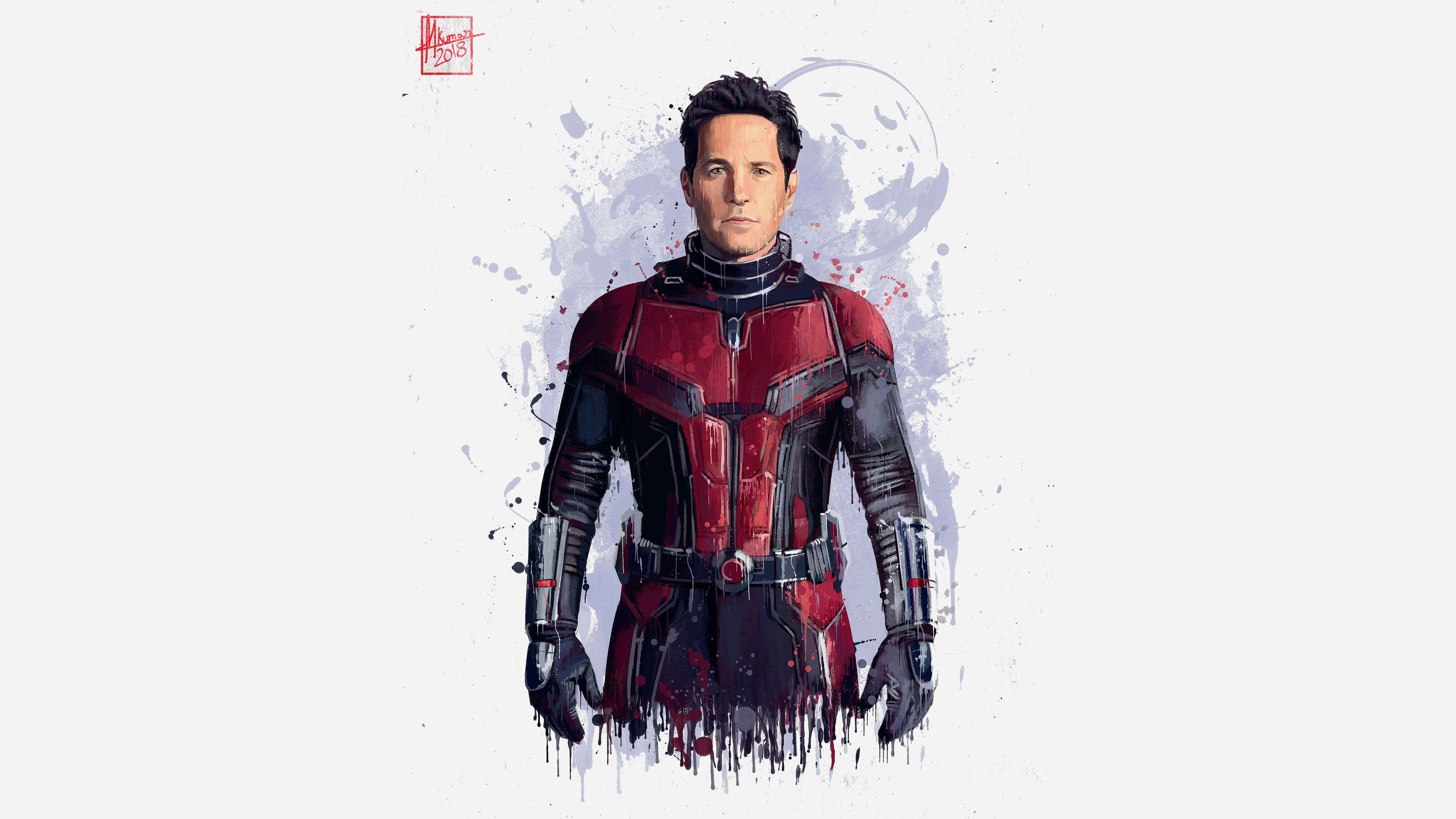 Holiday Movie Hd Wallpaper Download 3840x2400 Wallpaper Ant Man Avengers Infinity