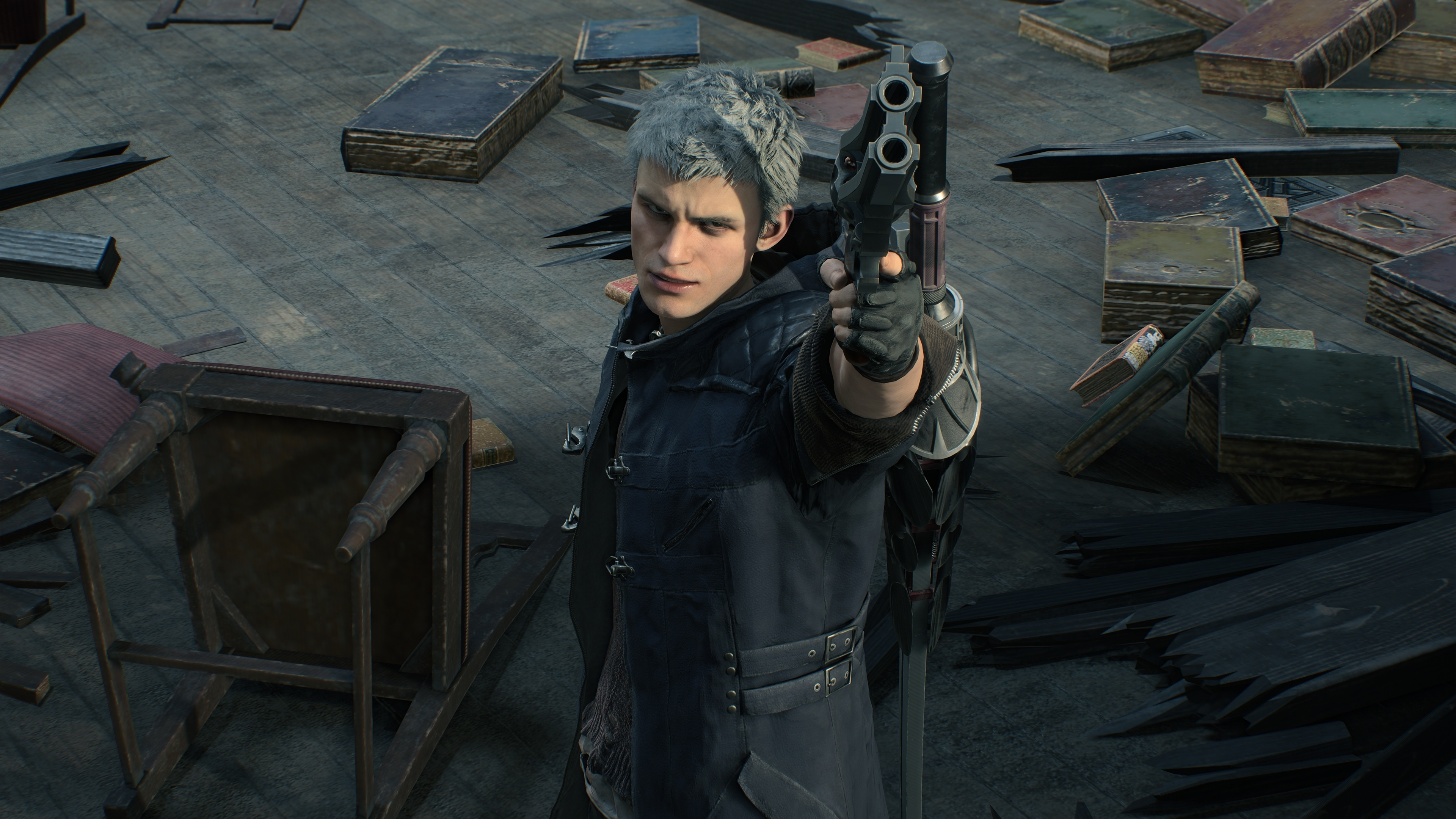 Cute Hd Wallpapers 1080p Widescreen Download 3840x2400 Wallpaper Devil May Cry 5 Video Game