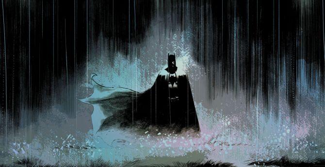 3d Wallpapers For Mobile Samsung Galaxy Ace Desktop Wallpaper Batman Art Rain Dark Hd Image