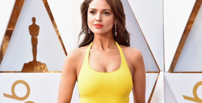 Wallpaper 4k Samsung Galaxy S8 Girls Desktop Wallpaper Eiza Gonzalez Oscars 2018 Hd Image