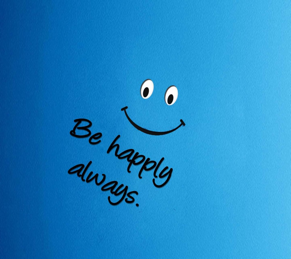 Cellphone Wallpaper Hd Quote Be Happy Always