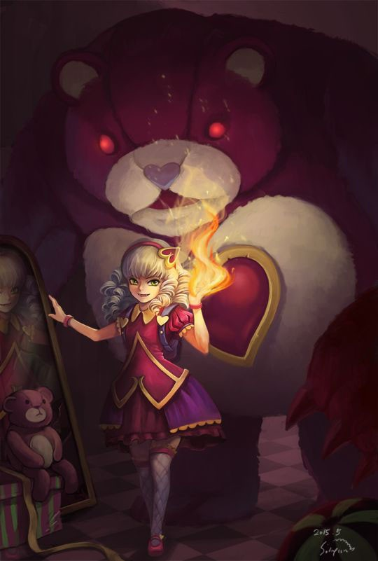 Car Fire Wallpaper League Of Legends Annie Wallpapers Hd Free Download