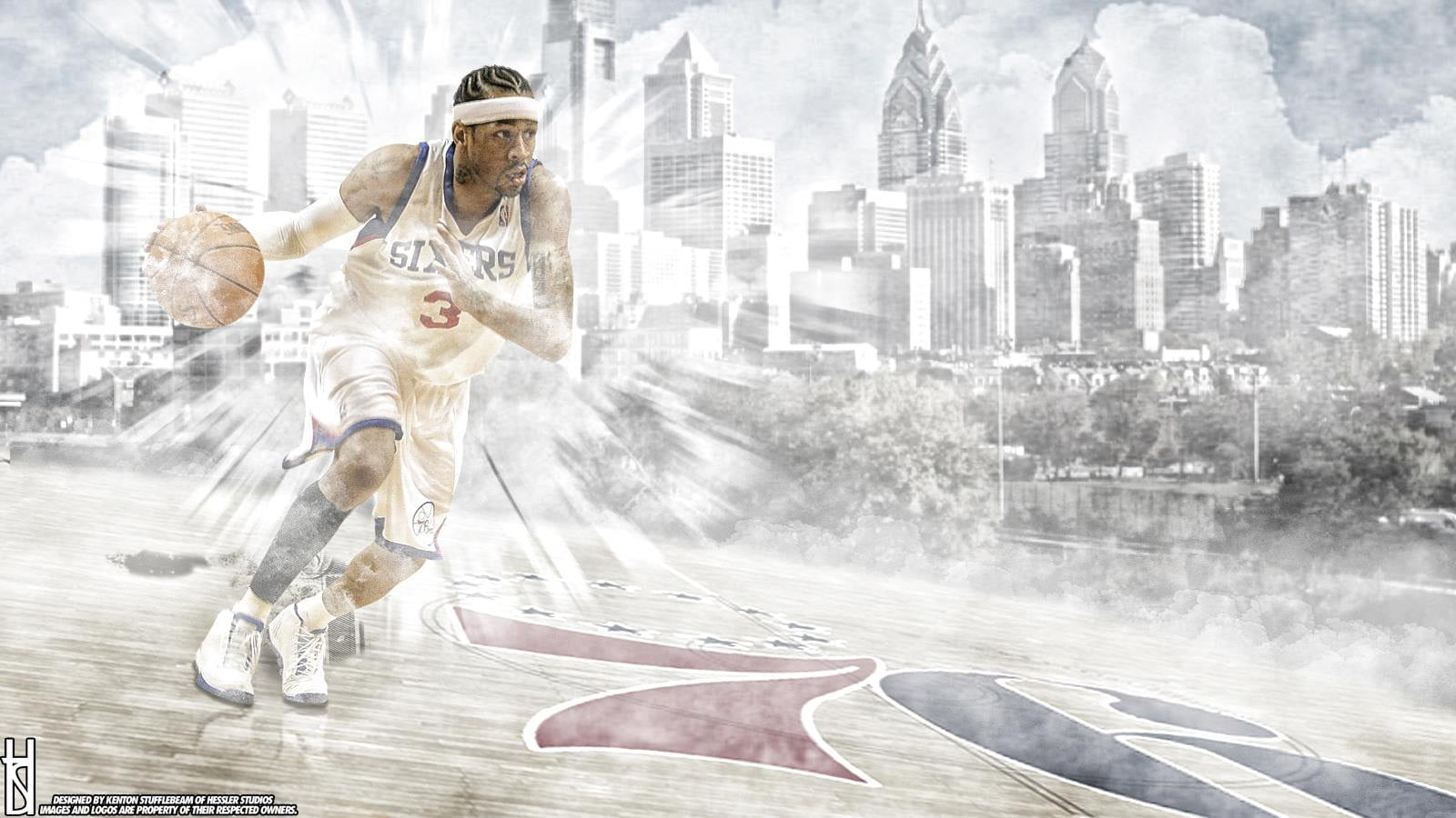 Miami Iphone X Wallpaper 26 Allen Iverson Wallpapers Hd Free Download