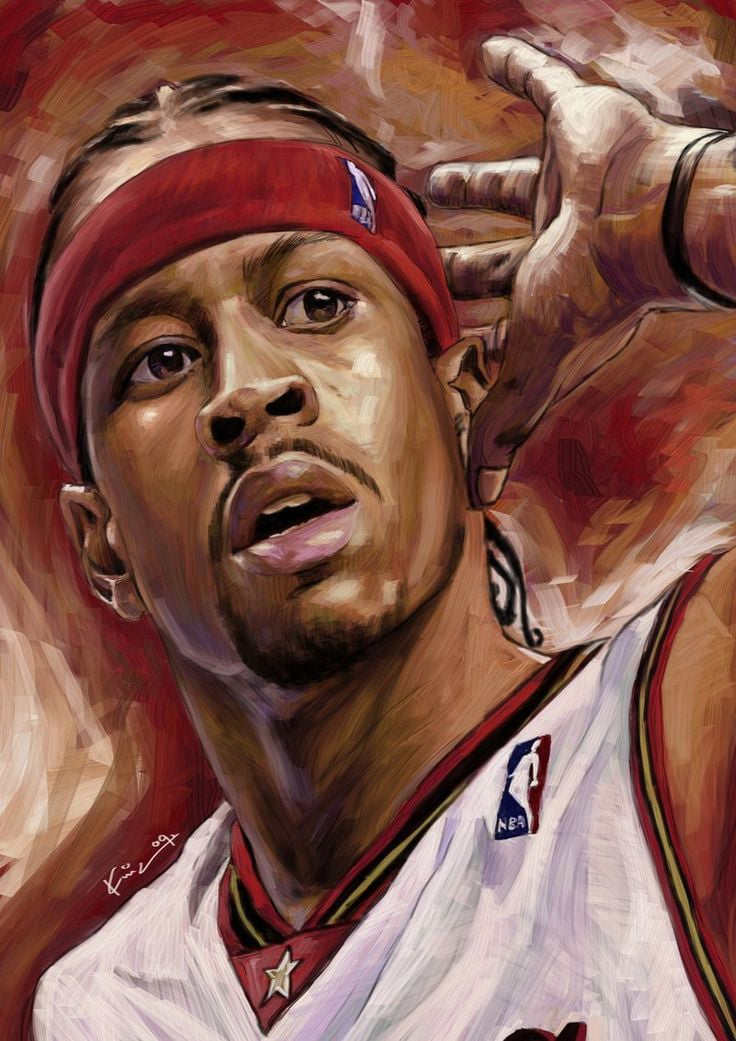 Nba Players Iphone Wallpaper 26 Allen Iverson Wallpapers Hd Free Download