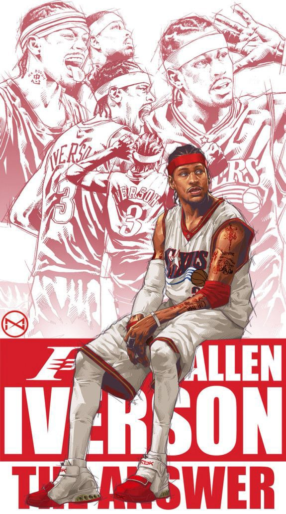 Tracy Mcgrady Iphone Wallpaper 26 Allen Iverson Wallpapers Hd Free Download
