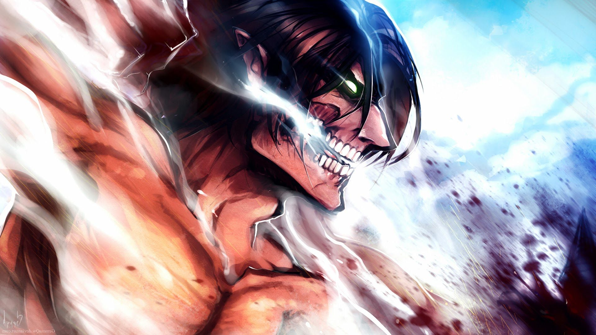 Car 5760x1080 Wallpaper 17 Eren Yeager Attack On Titan Wallpapers Hd Download