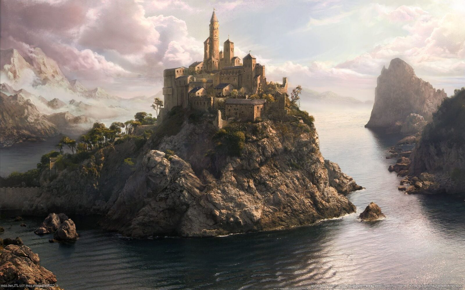 Anime Wallpaper Fairy Tale 21 Fairy Tales Castles Hd Wallpapers High Quality Download