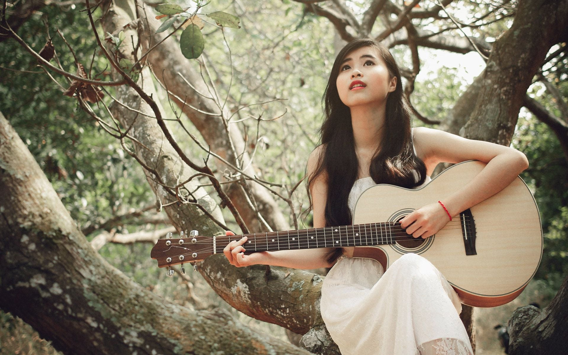 Vampire Love Quotes Wallpaper Wallpapers Girl With Guitar Hd Download