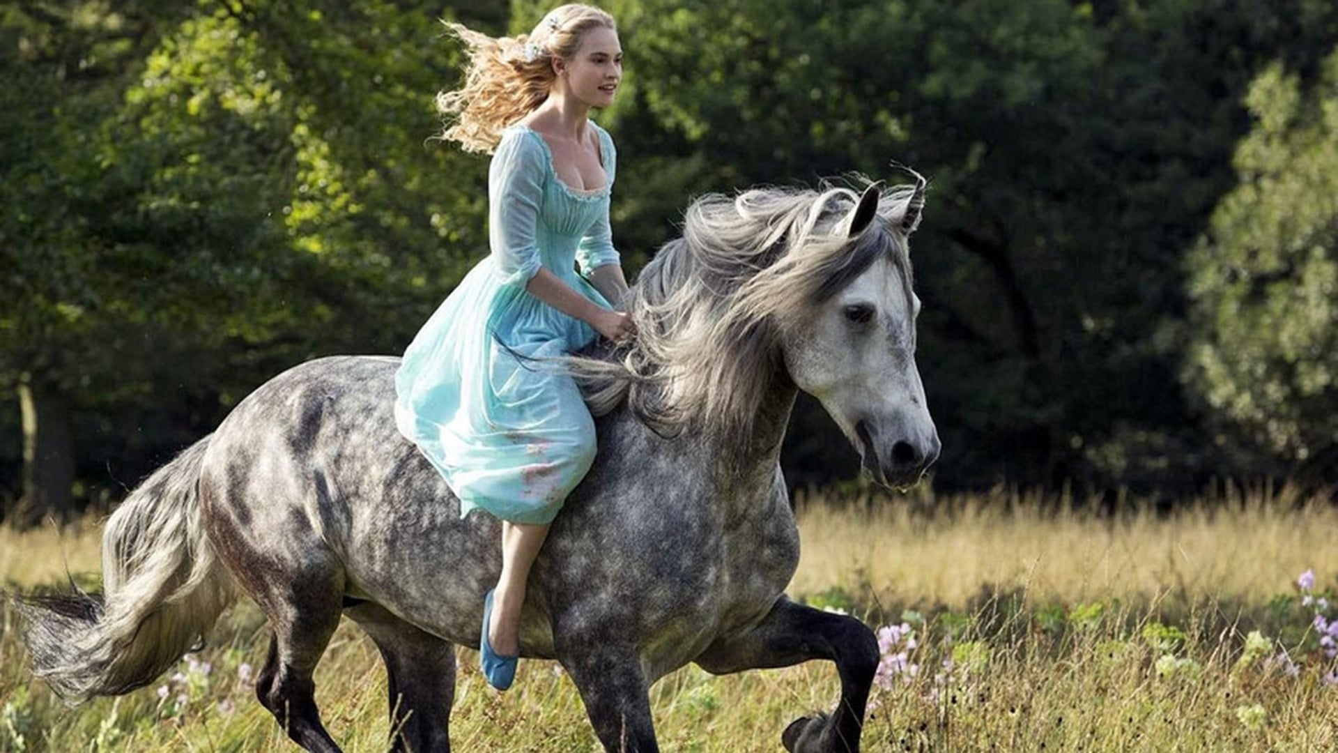 Girl Riding Horse Wallpaper Lily James Wallpapers Hd Free Download