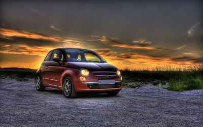 30+ Fiat 500 HD Wallpapers for Desktop free Download