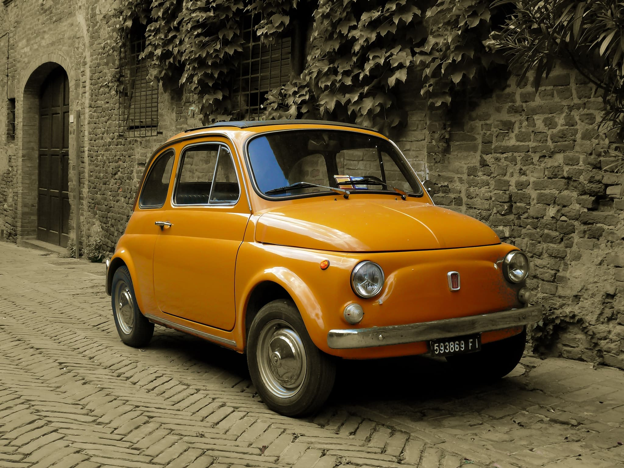 Free Classic Car Wallpaper 30 Fiat 500 Hd Wallpapers For Desktop Free Download