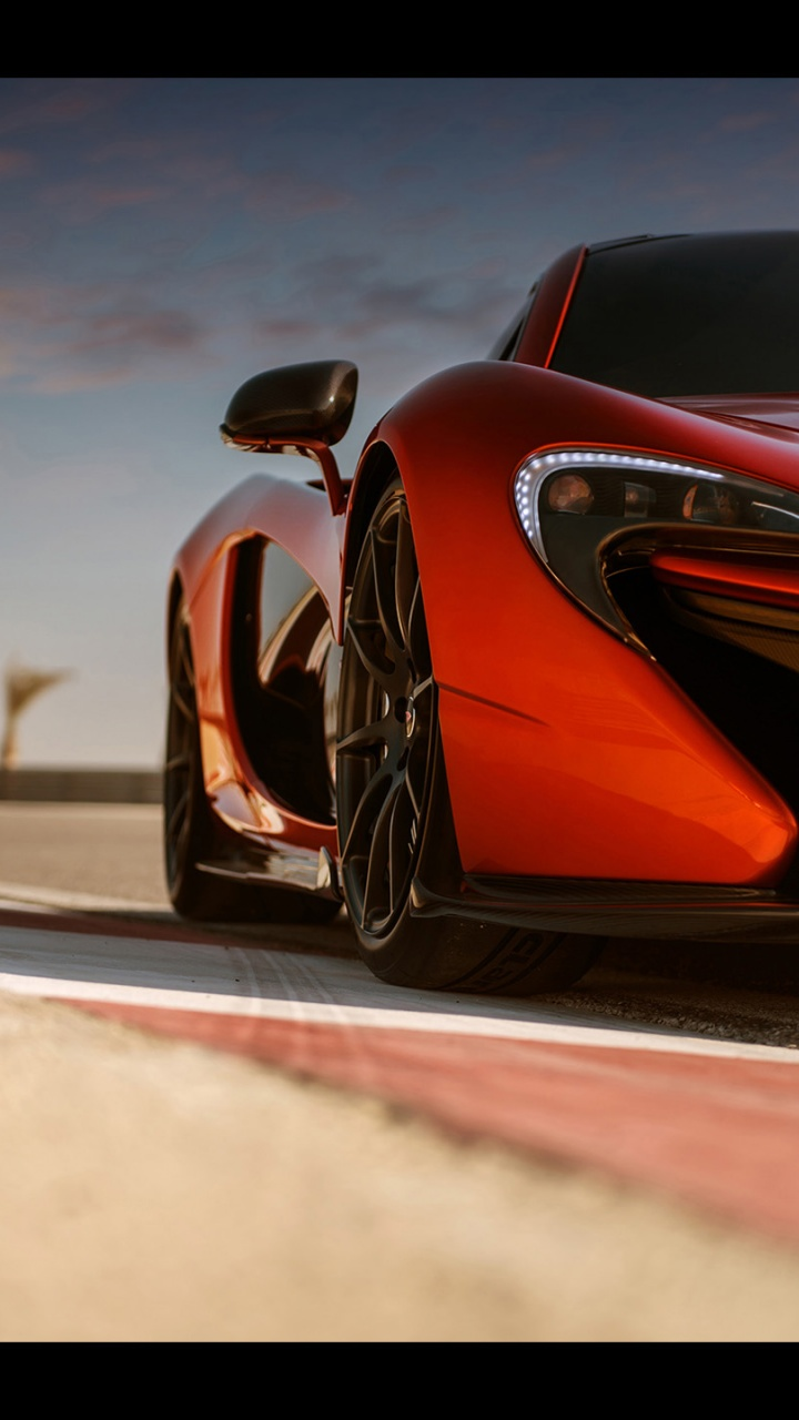 Black Phone Wallpaper 720x1280 2013 Mclaren P1 At Bahrain Front Section Galaxy