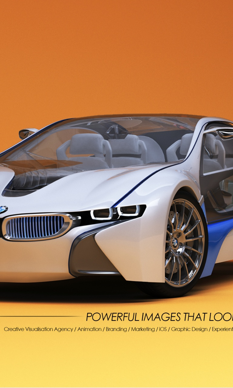 3d Car Wallpaper 768x1280 3d Car Designs Bmw Lumia 920 Wallpaper