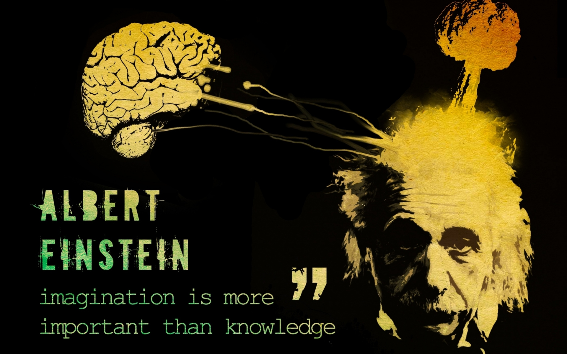 Marilyn Monroe Quotes Iphone Wallpaper Albert Einstein Brain Explode Wallpapers Albert Einstein