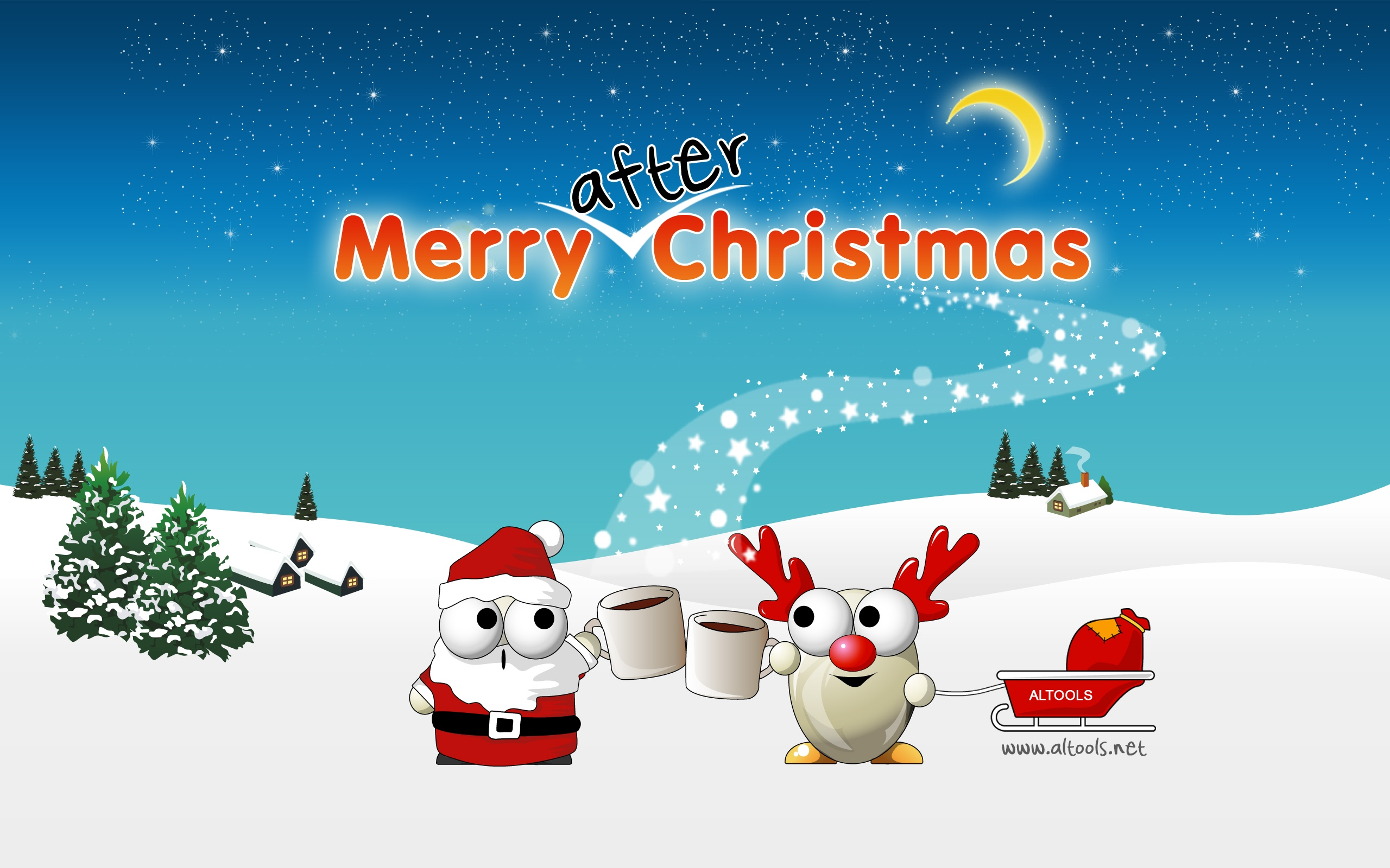 Happy Holidays Anime Girl Wallpaper 1920x1080 Altools After Chistmas Wallpapers Altools After
