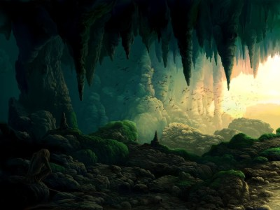 Bats in a cave wallpapers | Bats in a cave stock photos