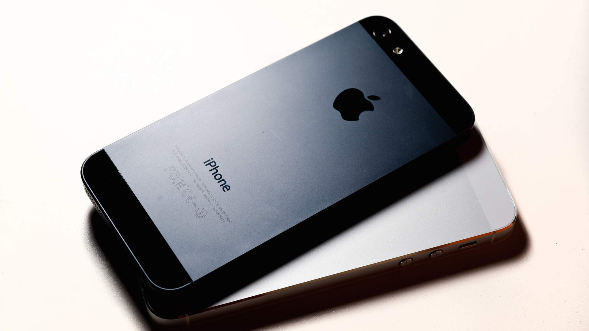 Iphone X Logo Wallpaper 1920x1080 Black And White Iphone 5 Desktop Pc And Mac