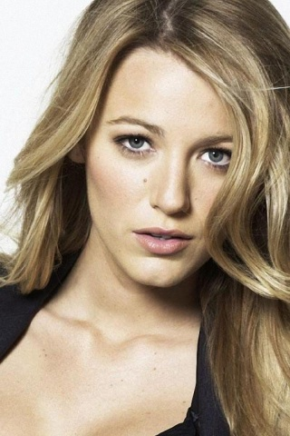 Iphone X Hd Wallpaper 320x480 Blake Lively Close Up Iphone 3g Wallpaper