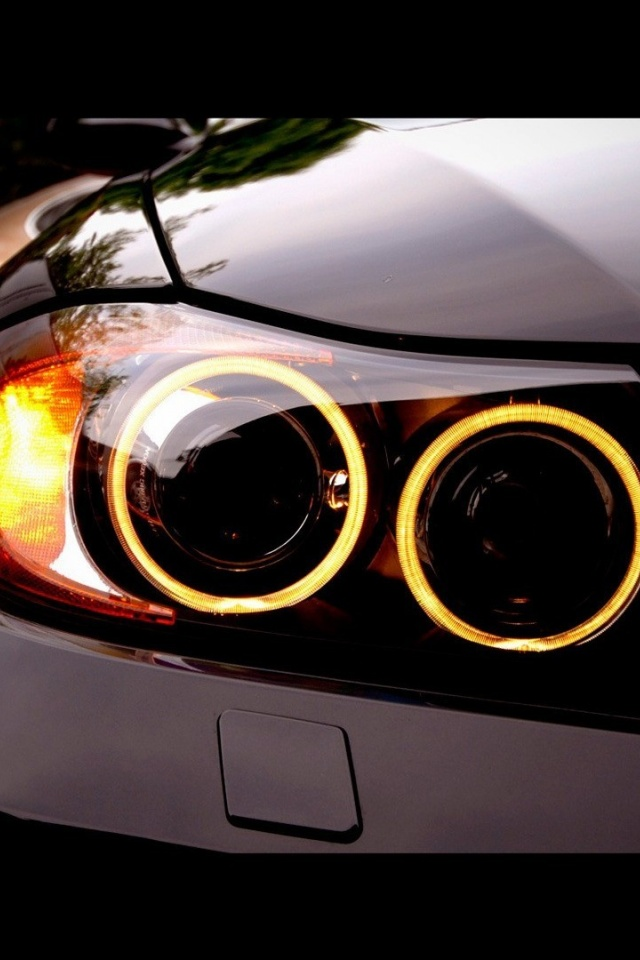 Wallpaper For Iphone X 640x960 Bmw M3 Angel Eyes Iphone 4 Wallpaper