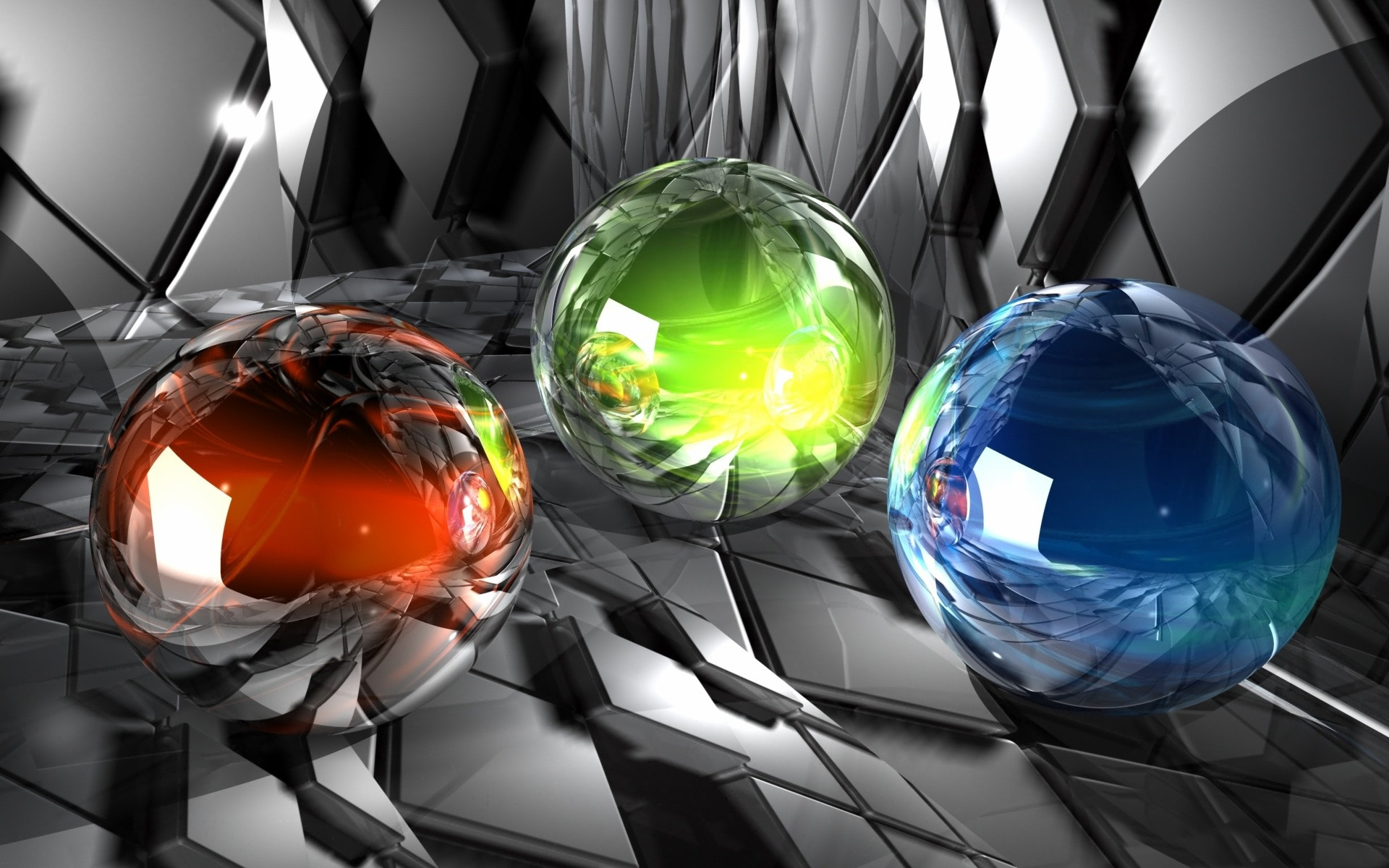 3d Cube Live Wallpaper Free Download Bright Colorful Balls Abstract Wallpapers Bright
