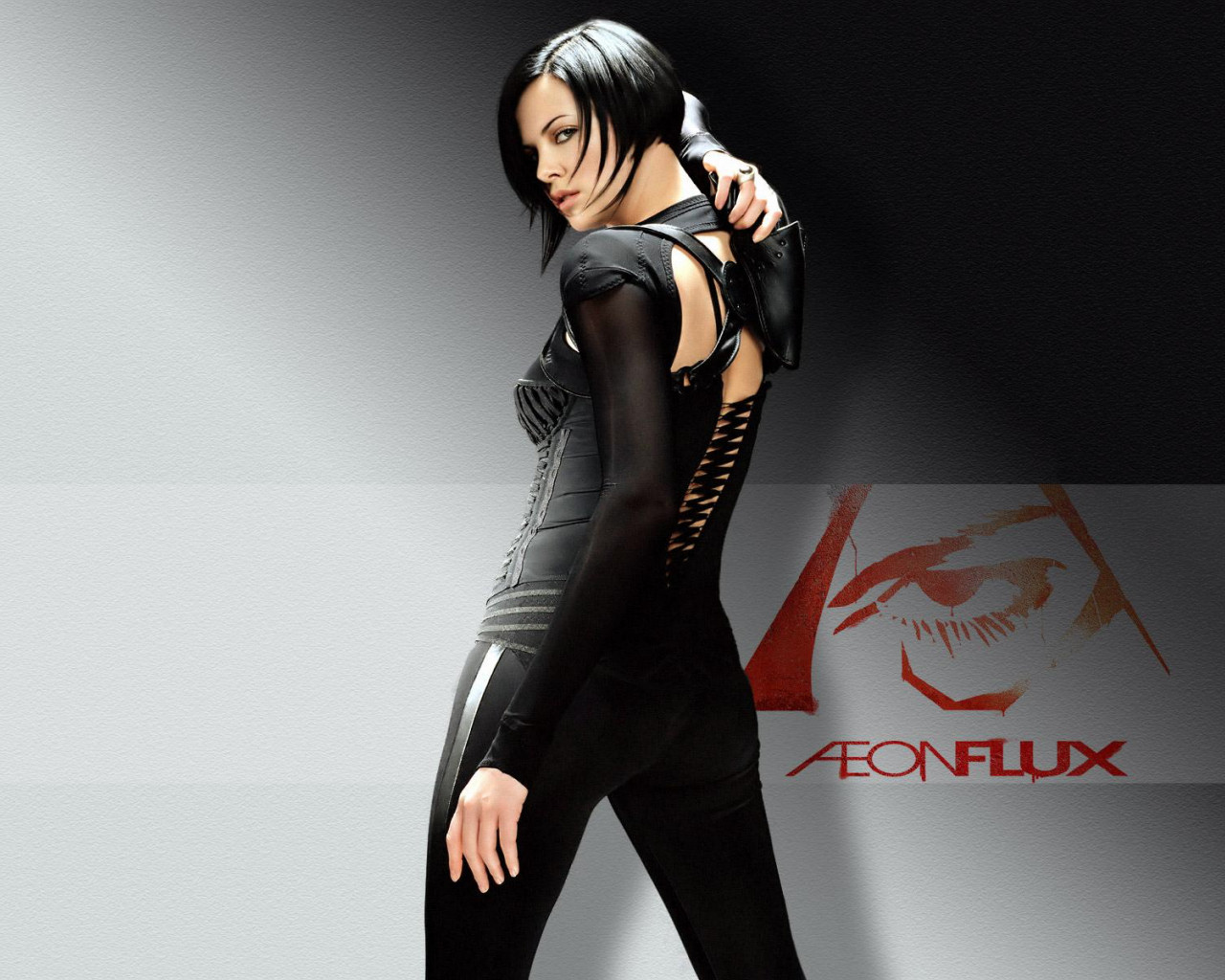 Beautiful Fiction Girl Wallpapers Charlize In Aeon Flux Wallpapers Charlize In Aeon Flux