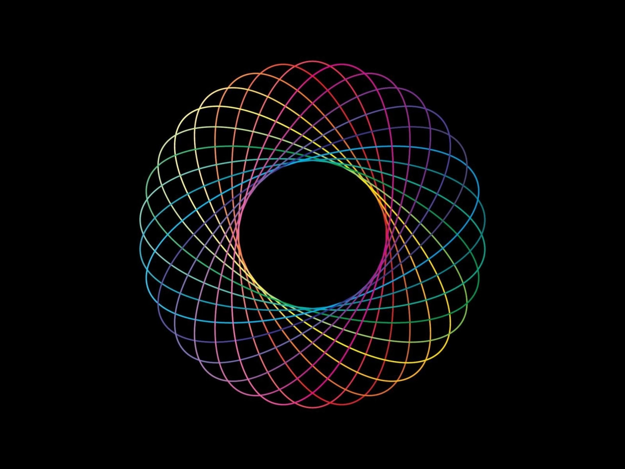 3d Animated Wallpaper For Mac Colorful Spirograph Abstract Wallpapers Colorful