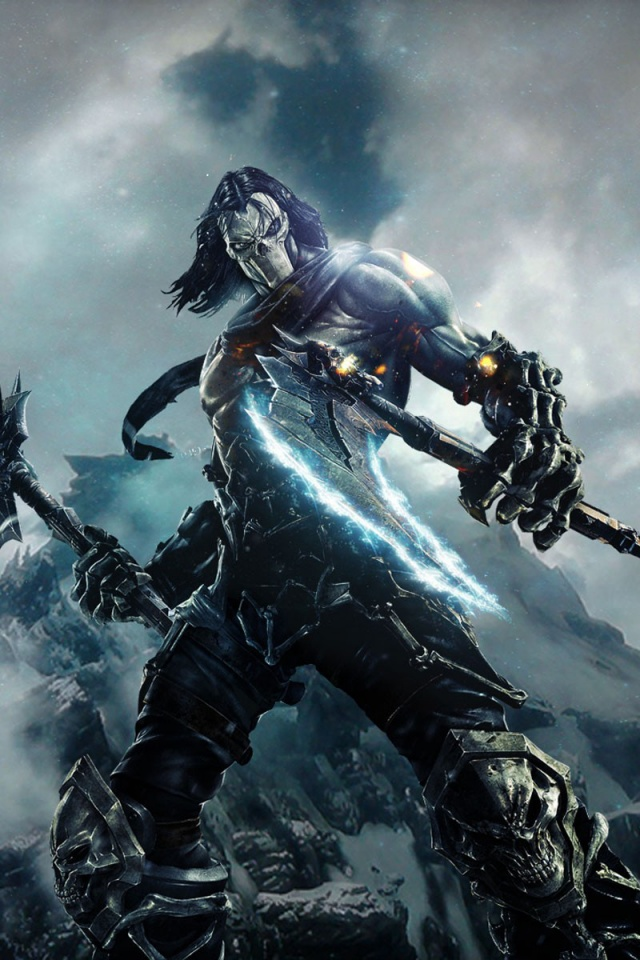 Wallpaper Iphone X Full Hd 640x960 Darksiders 2 Character Iphone 4 Wallpaper