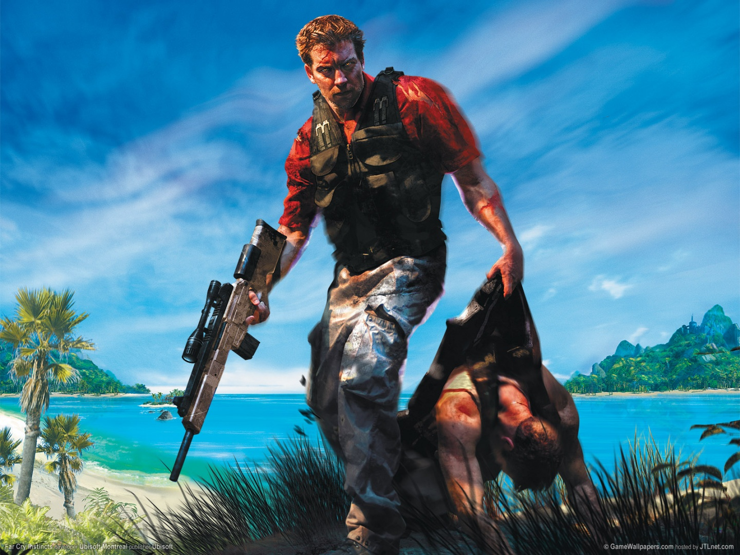 Gameboy Iphone Wallpaper Far Cry Instincts Wallpapers Far Cry Instincts Stock