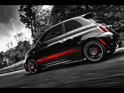 Fiat 500 Abarth Side Angle wallpapers | Fiat 500 Abarth Side Angle stock photos