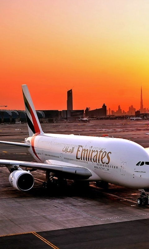 How To Set Wallpaper On Iphone X 480x800 Fly Emirates Airbus A380 800 Galaxy S2 Wallpaper