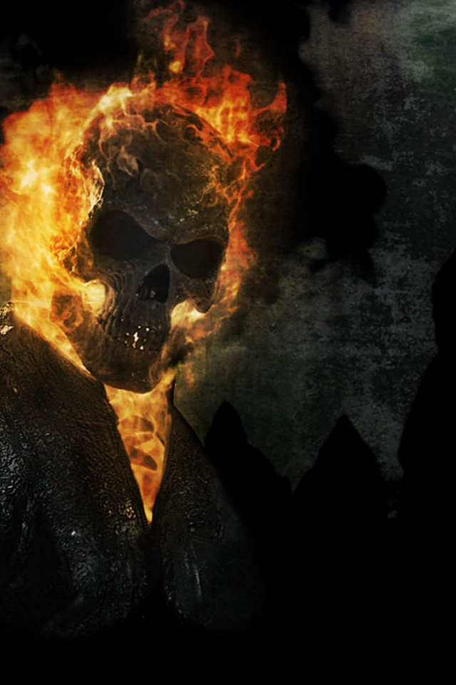 640x960 Hd Wallpapers 640x960 Ghost Rider Spirit Of Vengeance Poster Iphone 4