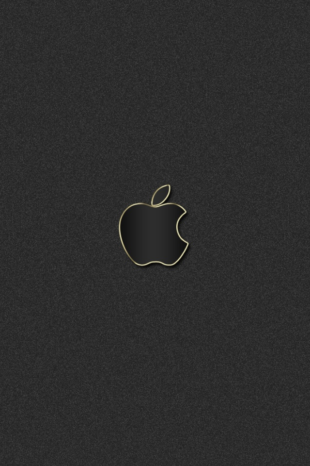 Pictures For Wallpaper Iphone 640x960 Gray Apple Iphone 4 Wallpaper