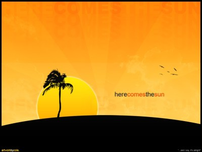 Here comes the sun wallpapers | Here comes the sun stock photos