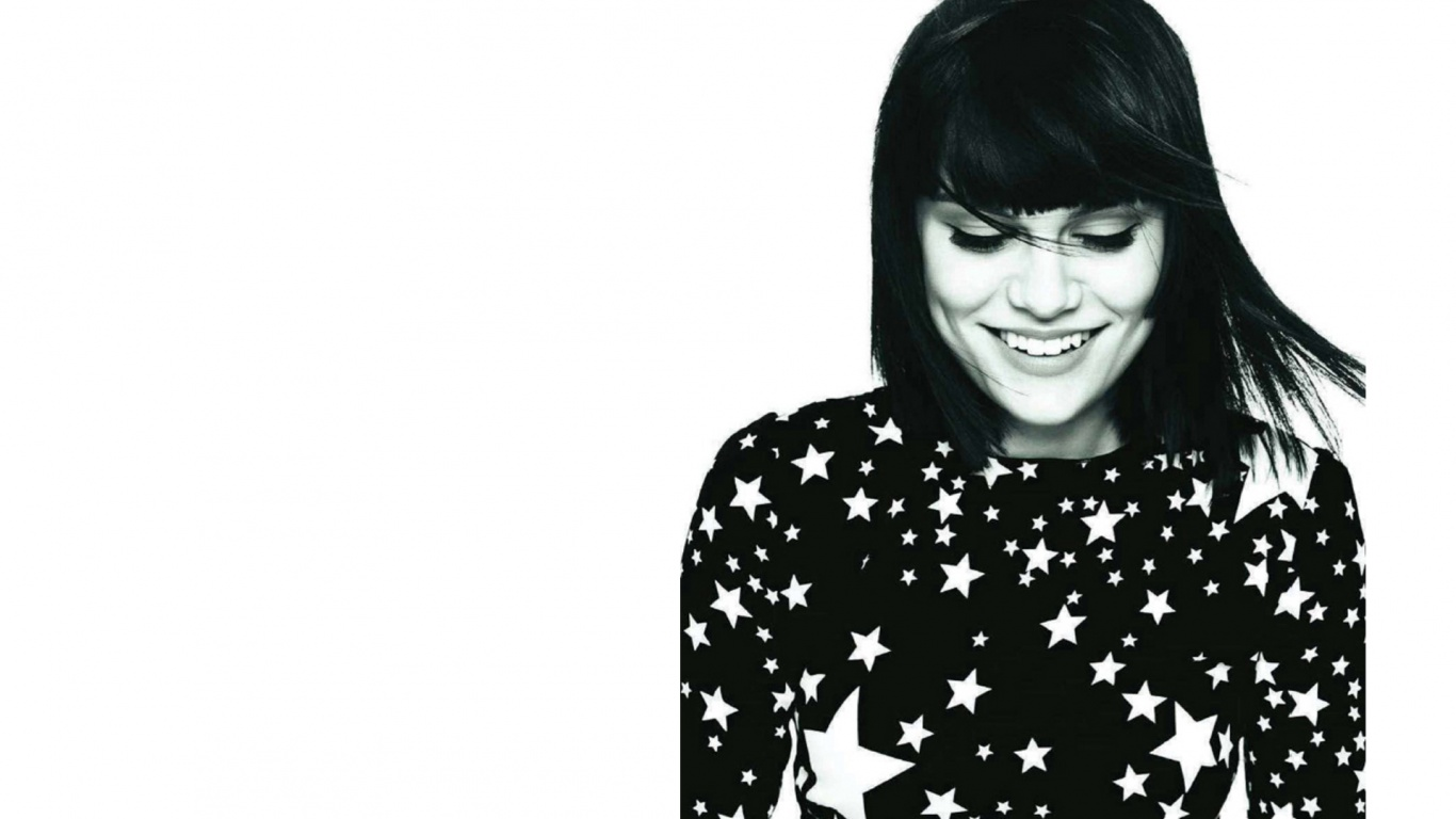 Hd Wallpapers For Pc Quotes 1366x768 Jessie J Glamorous Desktop Pc And Mac Wallpaper