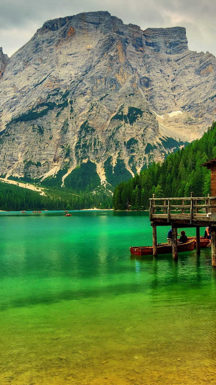 Galaxy S3 Wallpaper Hd 720x1280 Lake In Lake Sudtirol Italy Galaxy S3 Wallpaper