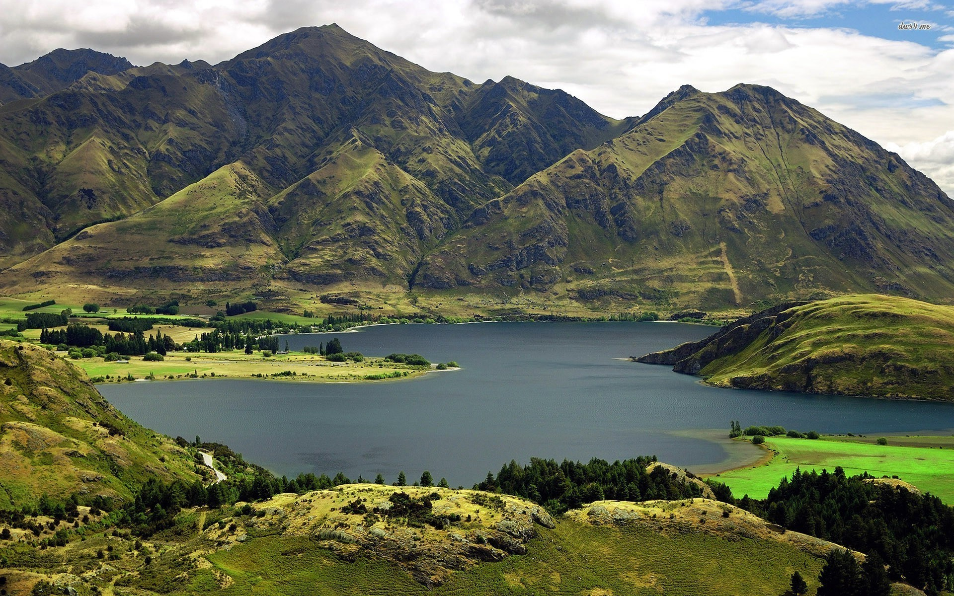 Ooty Hd Wallpapers Lake Wanaka Otago New Zealand Wallpapers Lake Wanaka