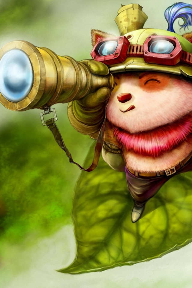 How To Set Wallpaper On Iphone X 640x960 League Of Legends Teemo Iphone 4 Wallpaper