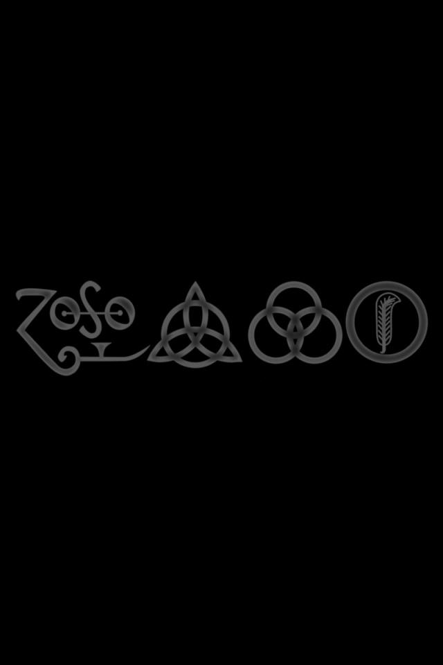 What Is The Wallpaper On The Iphone X 640x960 Led Zeppelin Iphone 4 Wallpaper