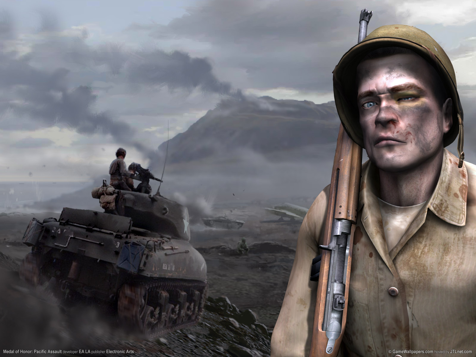 Devil 3d Hd Wallpapers Medal Of Honor Pacific Assault Wallpapers Medal Of Honor