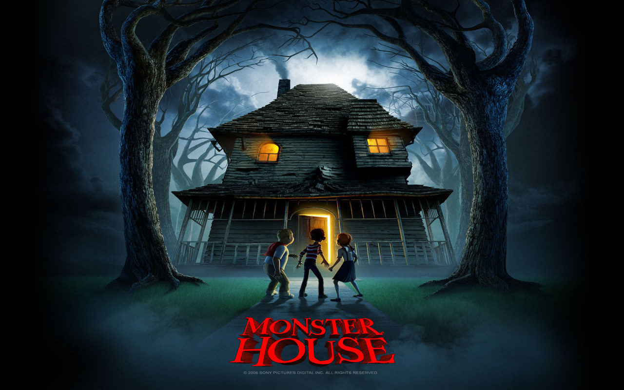 Ghost House Wallpaper Hd 3d Monster House Wallpapers Monster House Stock Photos