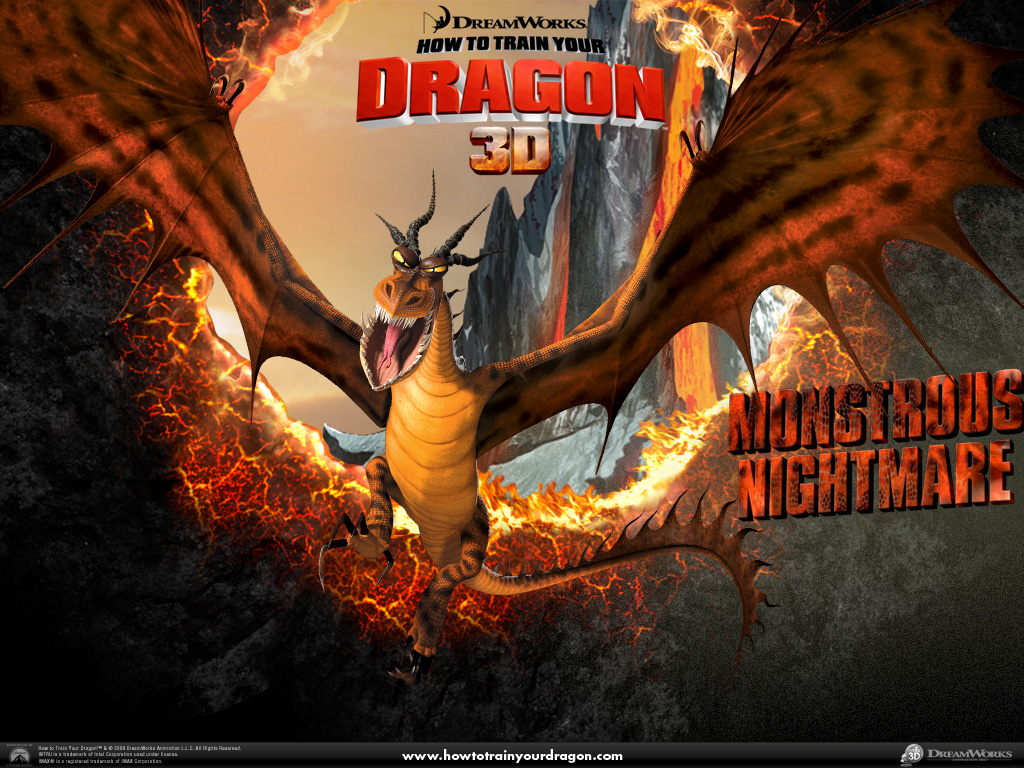 Fire Dragon Wallpapers 3d Monstrous Nightmare Wallpapers Monstrous Nightmare Stock