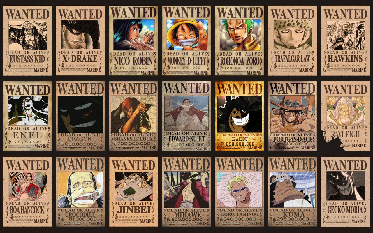 One Piece Wallpaper Iphone Most Wanted Piraten Hintergrundbilder Most Wanted