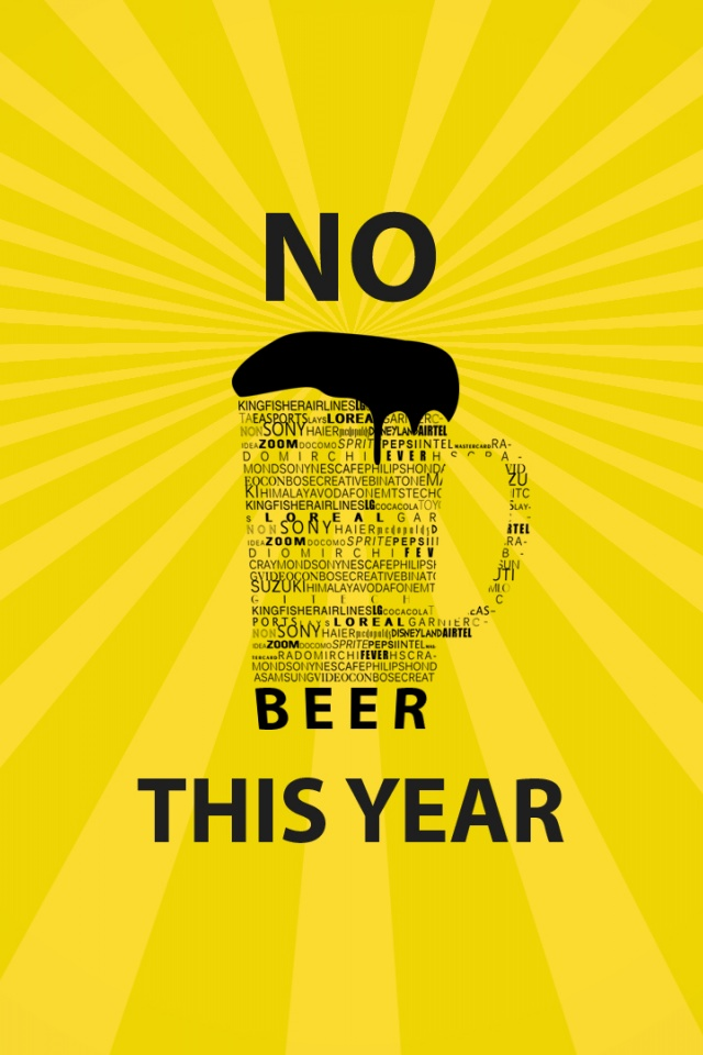 640x960 Hd Wallpapers 640x960 No Beer This Year Iphone 4 Wallpaper